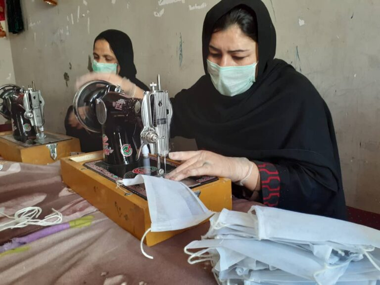 Afghan Women are Leading the Fight Against COVID-19