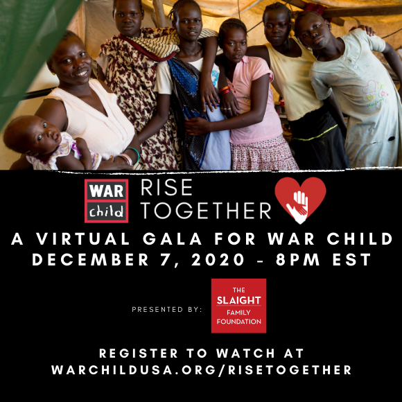 War Child Rise Together Gala